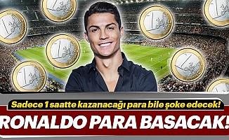 İşte ronaldo'nunjuventus'ta 1 saatte kazanacağı para!
