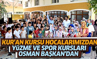 Kur'an Kursu, Hocalarımızdan; Yüzme Ve Spor Kursları Osman Başkan'dan