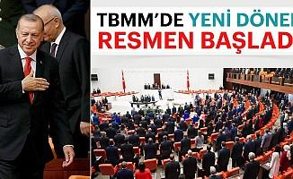 Meclis'teyeni dönembaşladı! Milletvekilleri yemin ediyor