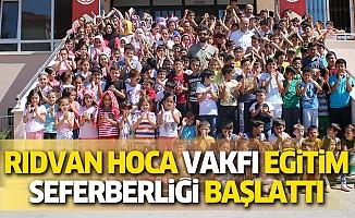 Rıdvan hoca Eğitim, Kültür ve Dayanışma Vakfı yaz Okulu Eğitim Seferberliği Başlattı.