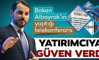 Bakan Albayrak'ın Yaptığı Telekonferans Yatırımcıya Güven Verdi