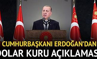 Cumhurbaşkanı Erdoğan'dan Dolar Açıklaması: Onların Doları Varsa Bizim De Halkımız Var