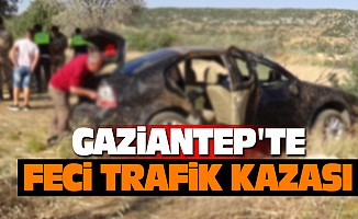 Gaziantep'te Feci  Trafik Kazası