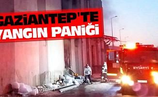 Gaziantep'te Yangın Paniği