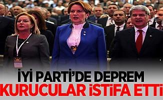 İYİ Parti'de deprem... Üç kurucu üye istifa etti