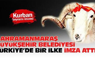 Kahramanmaraş Büyükşehir Belediyesi Türkiye'de bir ilke imza attı!