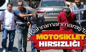 Kahramanmaraş'ta Motosiklet Hırsızlığı