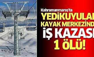Yedikuyular kayak merkezinde iş kazası: 1 ölü!