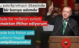 Başkan Erdoğan'danGaziler günü töreni'nde önemli mesajlar!