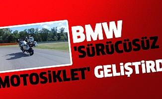 BMW 'Sürücüsüz Motosiklet' Geliştirdi