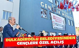 Dulkadiroğlu Belediyesinden Gençlere Özel Açılış