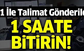 Emniyet Genel Müdürü Celal Uzunkaya'dan talimat: 1 saatte bitirin!