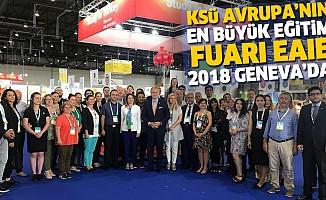 KSÜ, Avrupa'nın En Büyük Eğitim Fuarı EAIE 2018 GENEVA'DA
