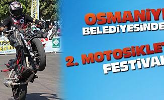 Osmaniye belediyesinden 2. Motosiklet festivali