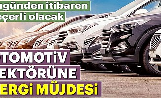 Otomobillere ÖTV indirimi geldi!