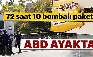 ABDayakta: 72 saatte 10bombalı paket!