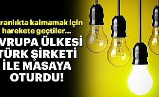 Avrupa ülkesi karanlıkta kalmamak için Türk şirketiyle görüşüyor!