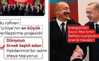 Başkan Erdoğan'dan dev projenin açılışında önemli açıklamalar
