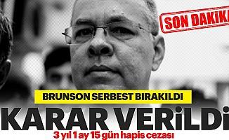Brunson serbest!