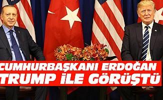 Cumhurbaşkanı Erdoğan İle ABD Başkanı Trump Görüştü