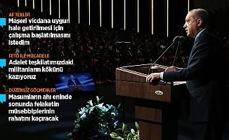 Cumhurbaşkanı Erdoğan: Yargıda Yasa Dışı Örgütlenmelere İzin Vermeyeceğiz