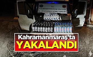 Kahramanmaraş'ta Kaçak İçki ve Sigara Operasyonu