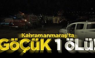 Kahramanmaraş'ta göçük