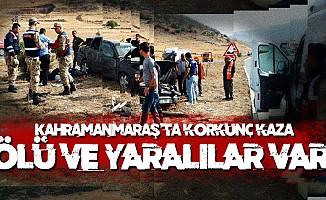 Kahramanmaraş'ta trafik kazası: ölü ve yaralılar var!