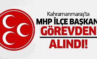 MHP ilçe başkanı görevden alındı!