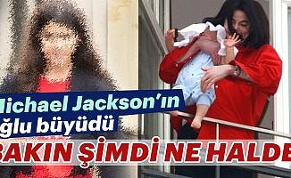 Michael Jackson'ın balkondan sarkıttığı oğlu büyüdü!