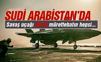 Suudi Arabistansavaş uçağı düştü