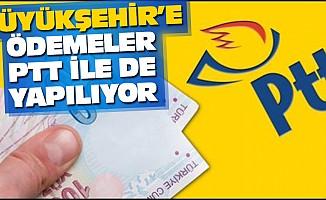 Büyükşehir'e Ödemeler PTT İle De Yapılıyor