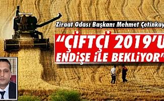 """""""Çiftçi 2019'u endişe ile bekliyor"""""""