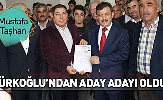 Mustafa Taşhan, Türkoğlu'ndan aday adayı oldu!