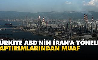 Türkiye ABD'nin İran'a Yönelik Yaptırımlarından Muaf