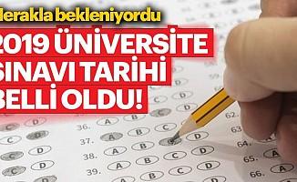 Üniversite sınavı tarihleri belli oldu! | 2019YKSsınavı ne zaman yapılacak?