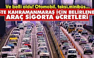 2019'da Kahramanmaraş'ta araç sigortası ne kadar olacak? İşte cevabı!