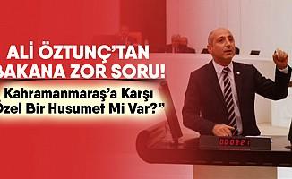 """Ali Öztunç'tan Spor Bakanı'na: """"Kahramanmaraş'a Karşı Özel Bir Husumet Mi Var?"""""""