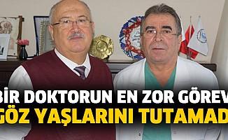 Bir doktorun en zor görevi  Doktor, vefat eden hemşiresinin bağışlanan organlarını aldı