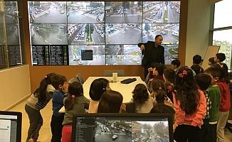 Büyükşehir'den Miniklere Trafik Dersi