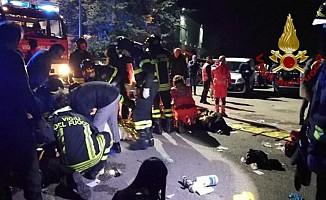 İtalya'da gece kulübünde korkunç olay: 6 ölü, en az 100 yaralı