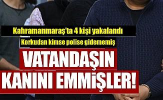 Kahramanmaraş'ta tefeci operasyonu!