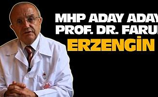 MHP aday adayı Prof. Dr. Faruk Erzengin