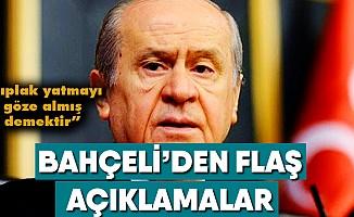 """MHPLideri Bahçeli'den flaş """"Sarı Yelek"""" açıklaması"""