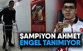 Şampiyon Ahmet Engel Tanımıyor