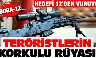 Teröristlerin Korkulu RüyasıBora-12, Hedefi 12'den Vuruyor