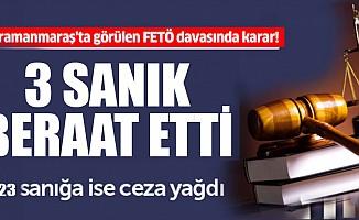 26 sanıklı FETÖ davasında karar verildi!
