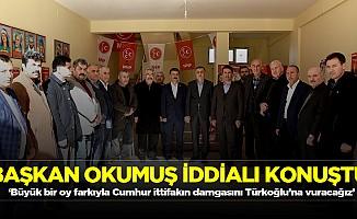 'Büyük bir oy farkıyla Cumhur ittifakın damgasını Türkoğlu'na vuracağız'