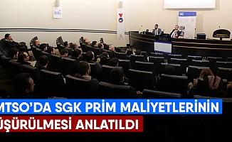 KMTSO'da SGK prim maliyetlerinin düşürülmesi anlatıldı