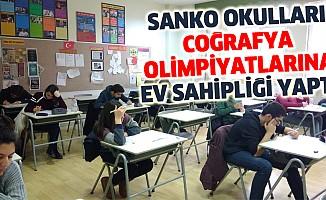SANKO Okulları Coğrafya Olimpiyatlarına Ev Sahipliği Yaptı